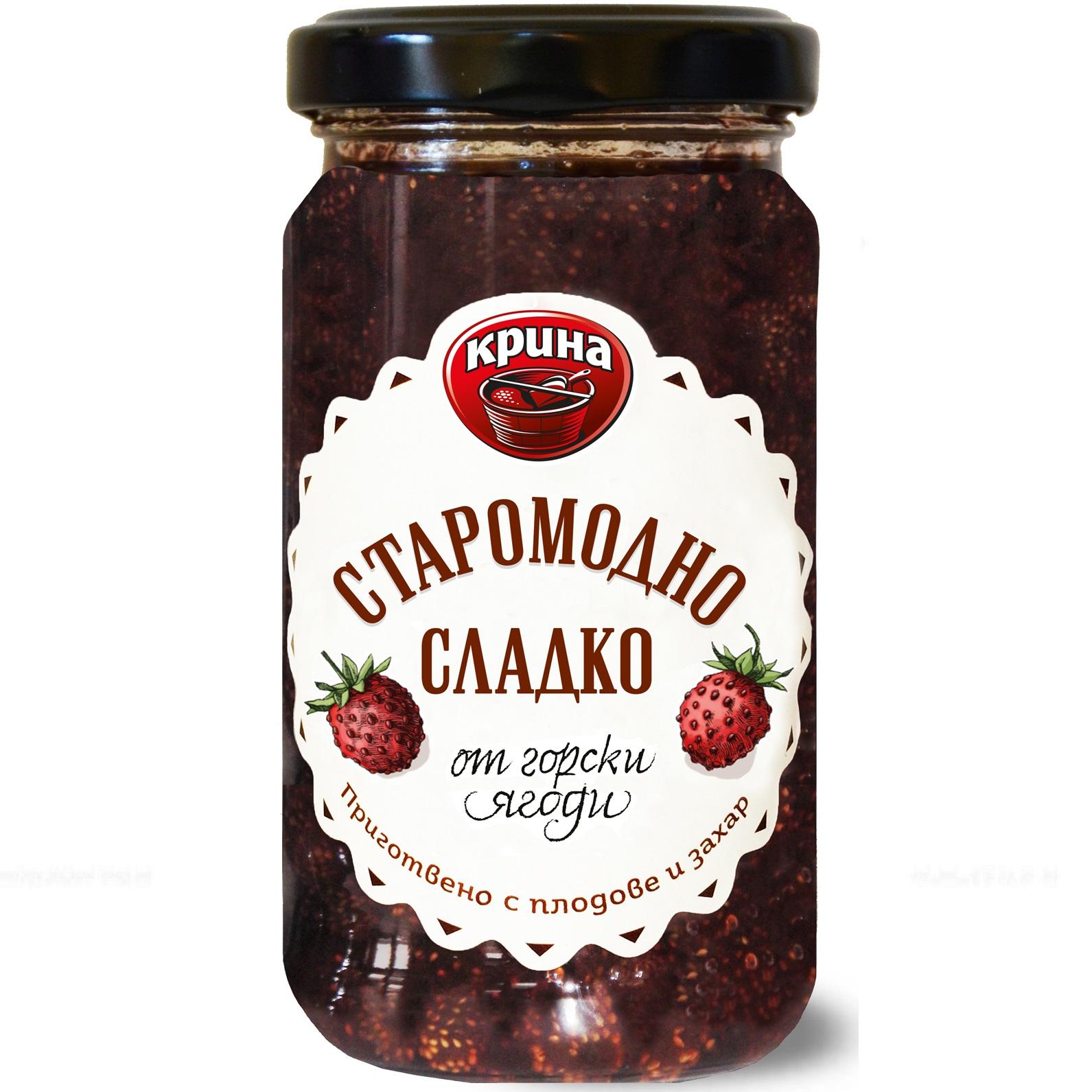 КРИНА СЛАДКО 245Г ГОРСКИ ЯГОДИ