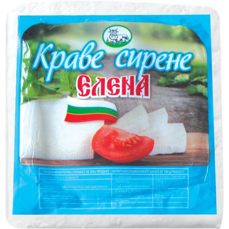 ЕЛЕНА СИРЕНЕ КРАВЕ 500Г КУТИЯ