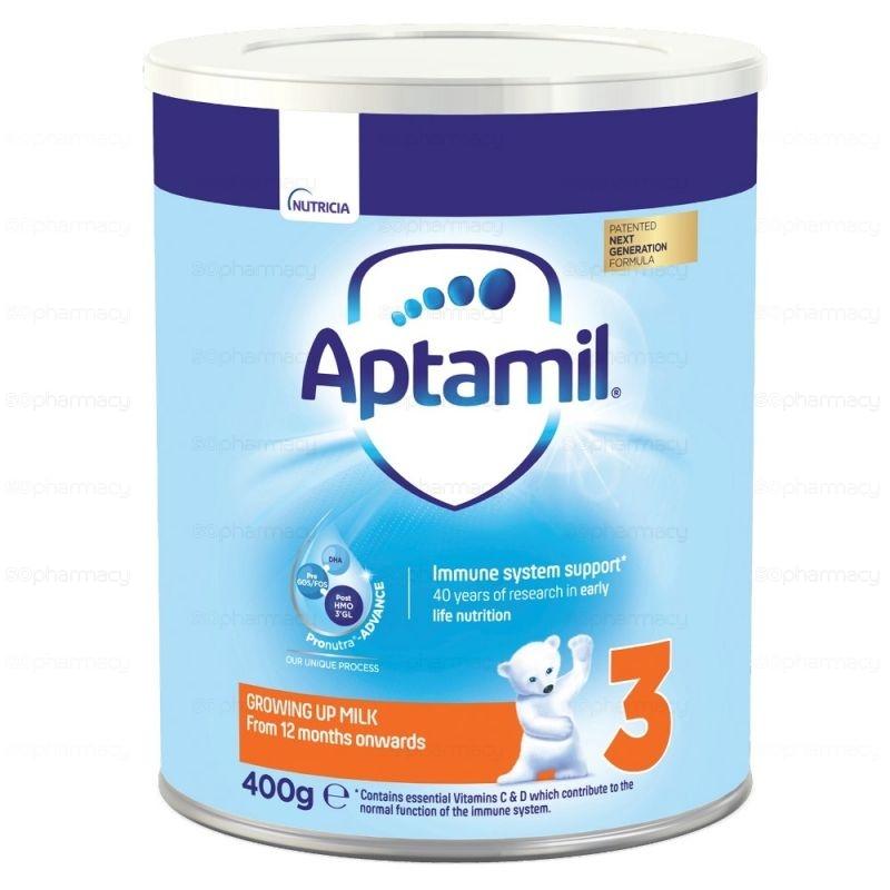 Аптамил Адаптирано Мляко Адванс 3 400Г