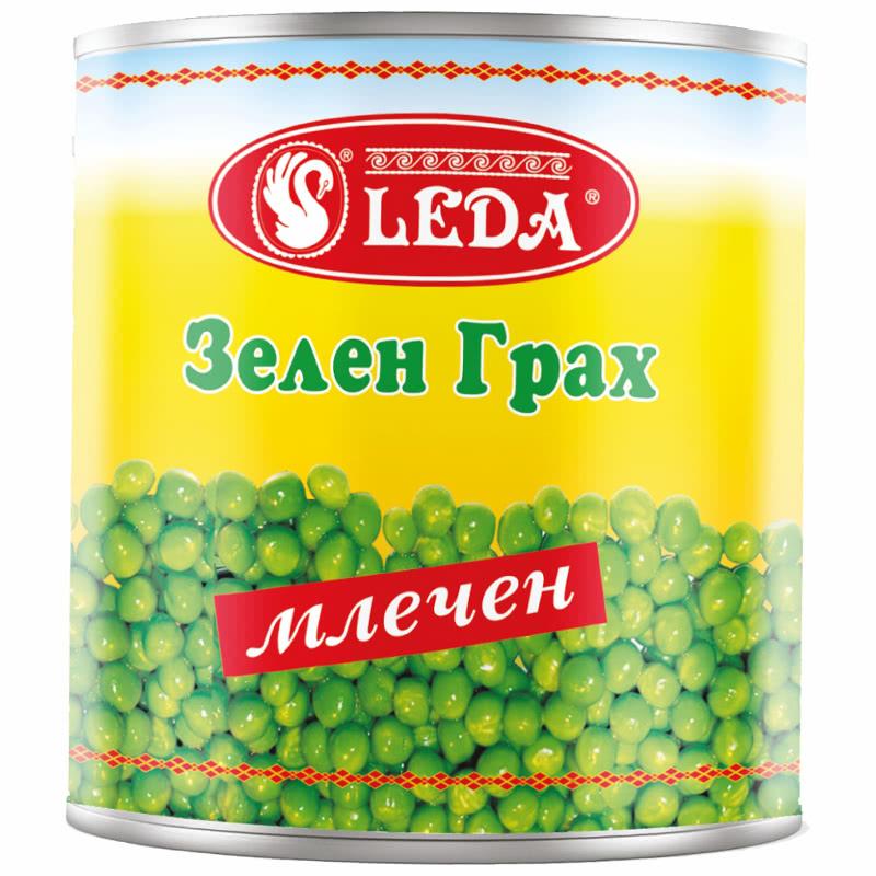 ЛЕДА ГРАХ 800Г ЗЕЛЕН