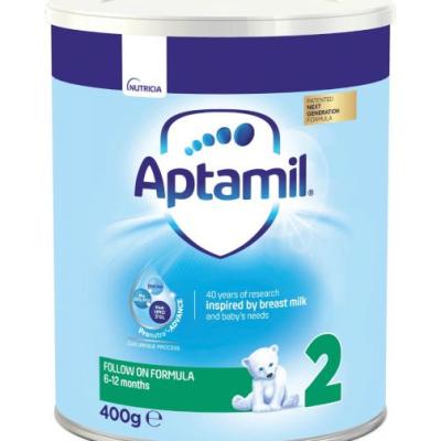 Аптамил Адаптирано Мляко Адванс 2 400Г