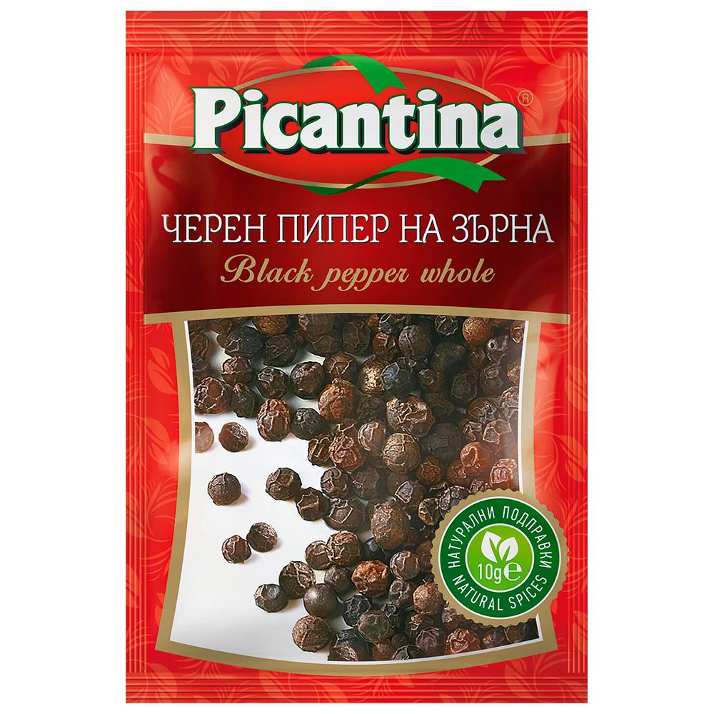 ПИКАНТИНА ПОДПРАВКА 10Г ЧЕРЕН ПИПЕР ЗЪРНА