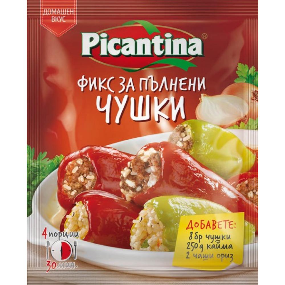 ПИКАНТИНА ПОДПРАВКА ФИКС 36Г ПЪЛНЕНИ ЧУШКИ