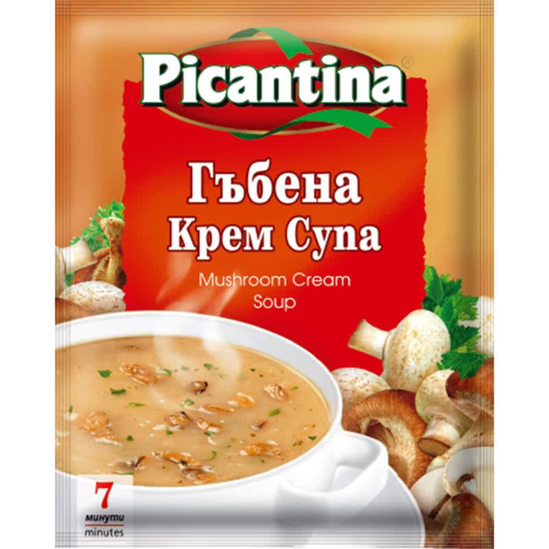 ПИКАНТИНА СУПА 68Г КРЕМ ГЪБЕНА