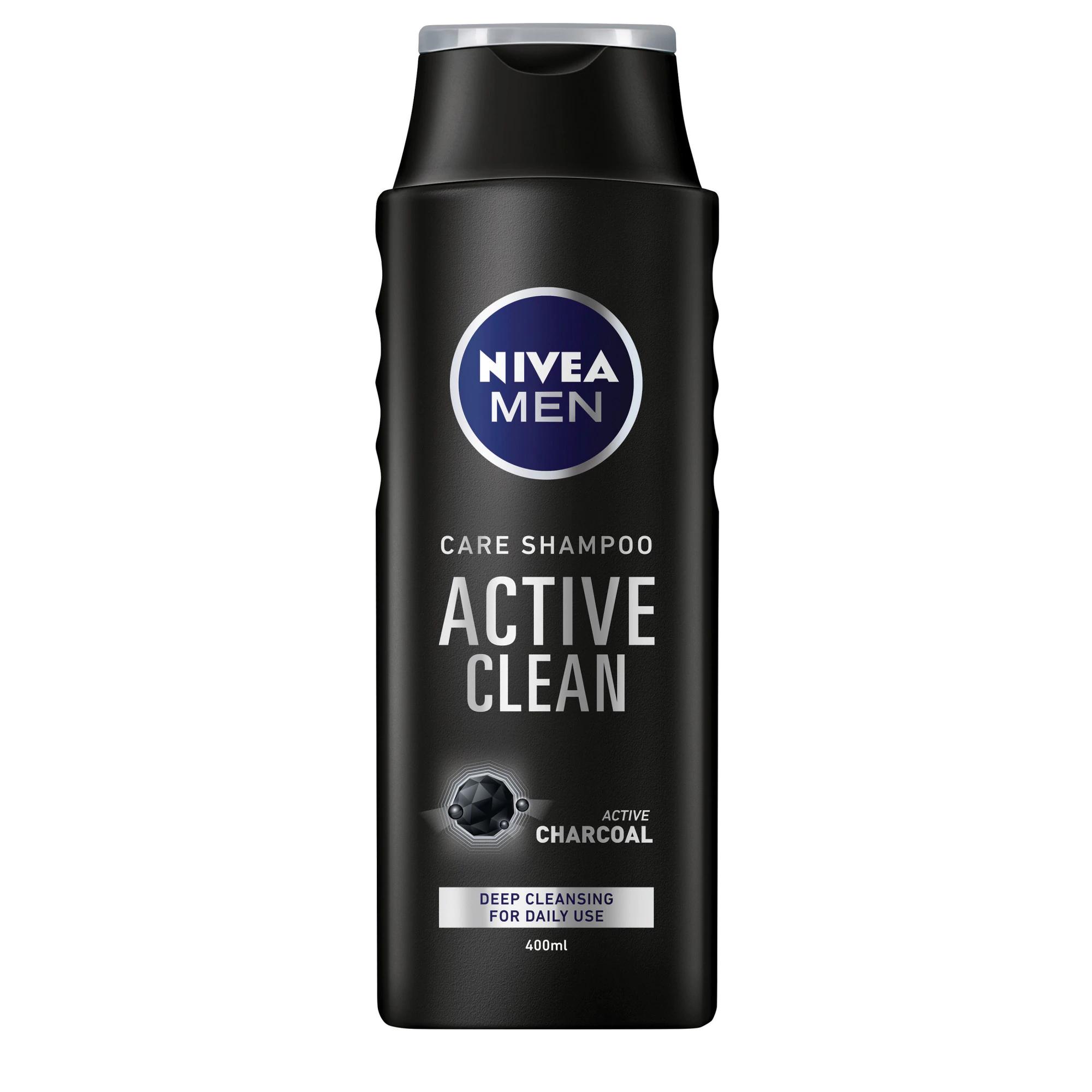 НИВЕА ШАМПОАН ЗА КОСА 400МЛ МЕН ACTIVE CLEAN 82753