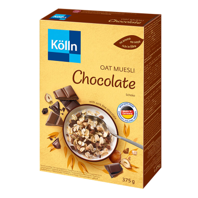 Кьолн Мюсли Традиционно Овес и Шоколад 375г