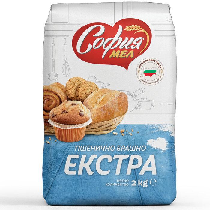 СОФИЯ МЕЛ БРАШНО ЕКСТРА 2КГ