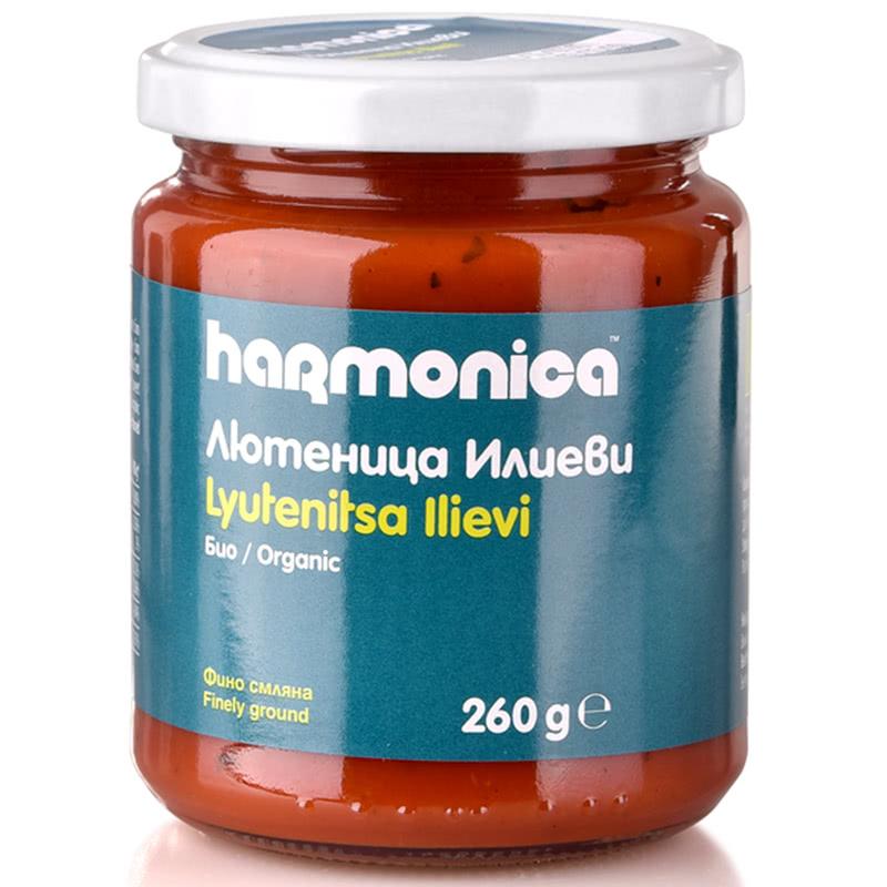ХАРМОНИКА ЛЮТЕНИЦА 260Г ИЛИЕВИ ФИННО СМЛЯНА  БИО