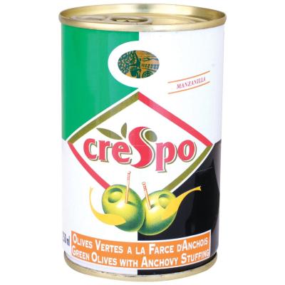 Креспо Зелени Маслини с Аншоа 300гр
