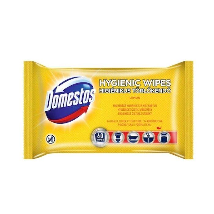 Доместос Кърпи Почистващи Лимон 60бр