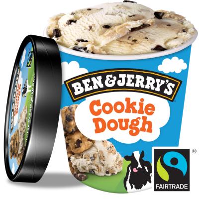 Бен и Джерис Сладолед Куки Доут 450мл