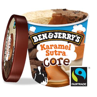 Бен и Джерис Сладолед Карамел 450мл