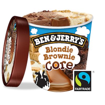 Бен и Джерис Сладолед Блонди Брауни 450мл