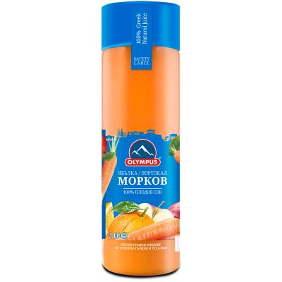 Олимпус Сок Натурален Морков 1л