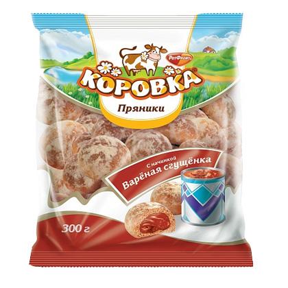 КОРОВКА ПРЯНИКИ 300Г КОНДЕНЗ МЛЯКО