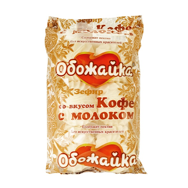 ЗЕФИР ВКУС КАФЕ С МЛЯКО 280Г 470