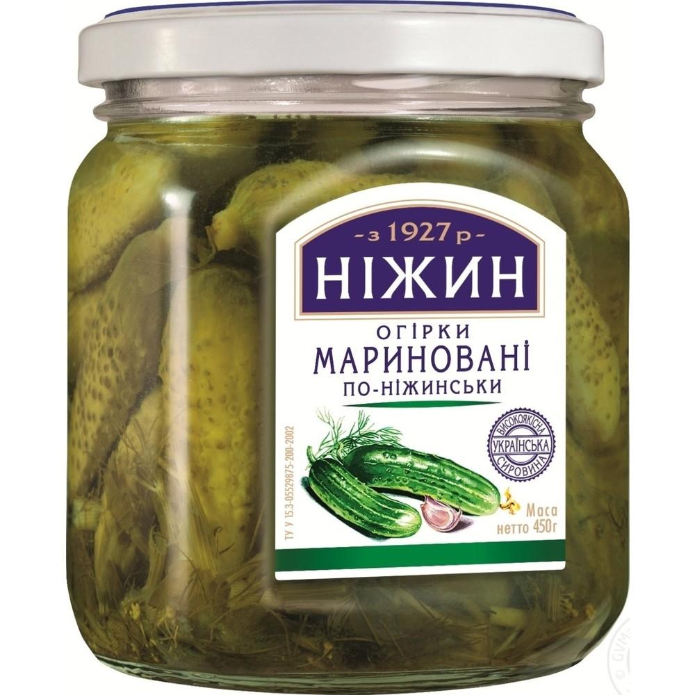 НЕЖИН КРАСТАВИЧКИ 450Г МАРИН ПО-НЕЖИНСКИ
