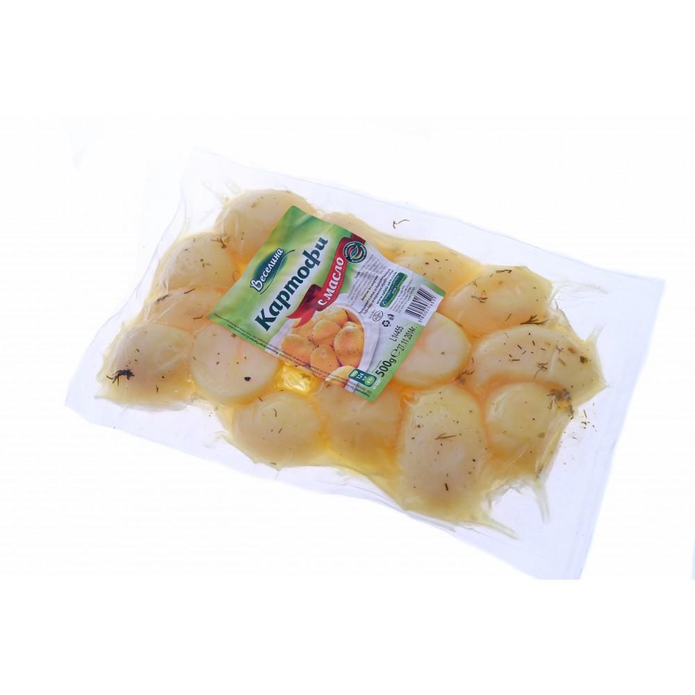 Веселина Картофи с Масло 500г