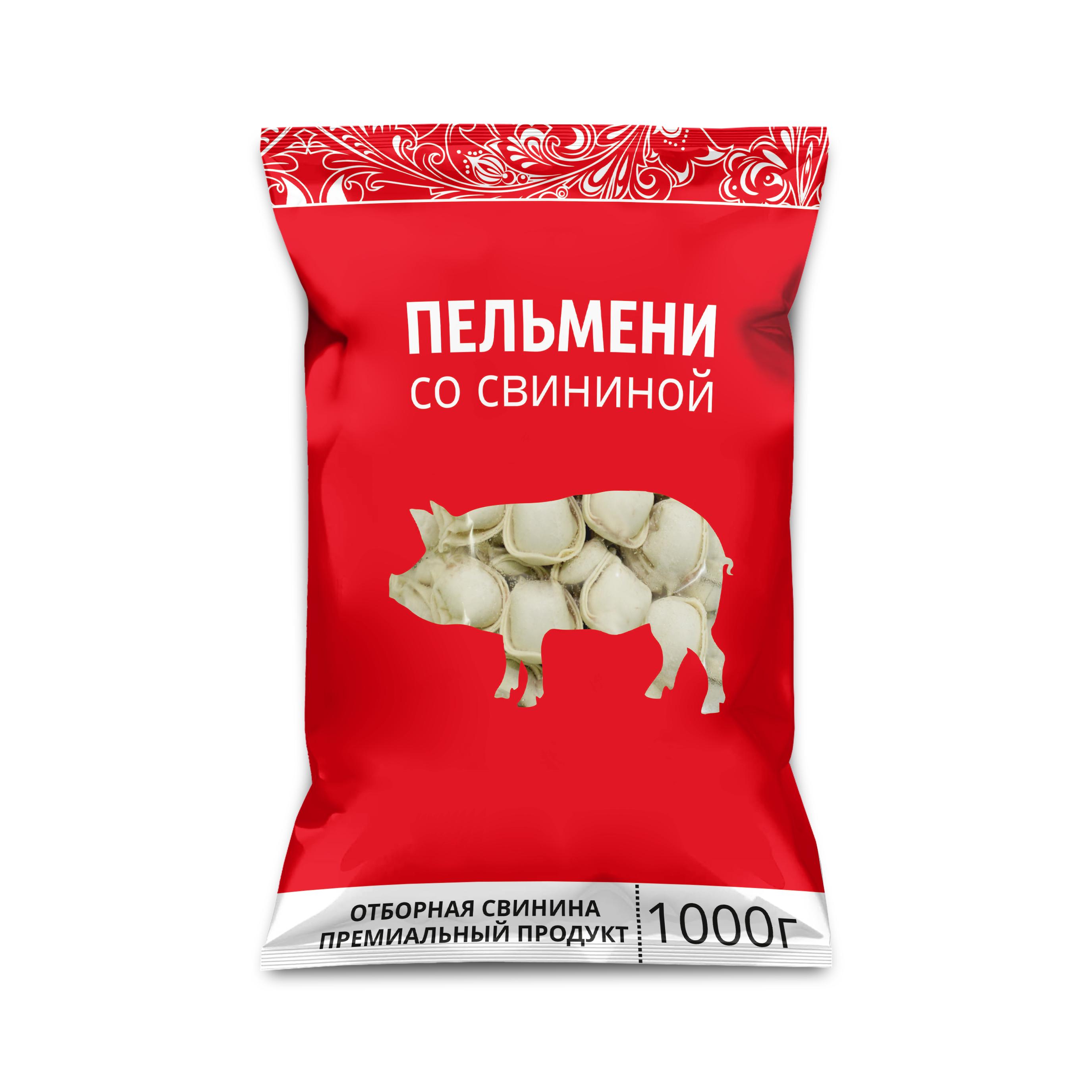 ПЕЛМЕНИ СВИНСКО МЕСО 1КГ 2303