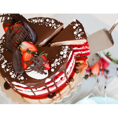 Парми Торта Червено Кадифе 1 парче