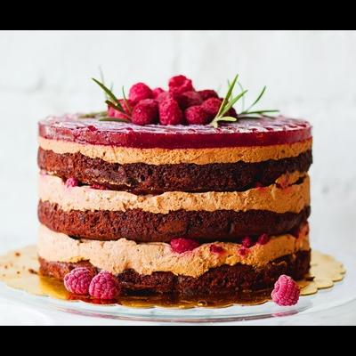 Парми Торта Шоколадова с Малини 6 парчета