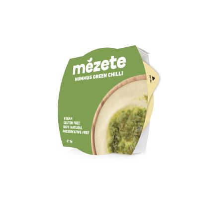 Мезете Хумус Зелен Лют Пипер 215г