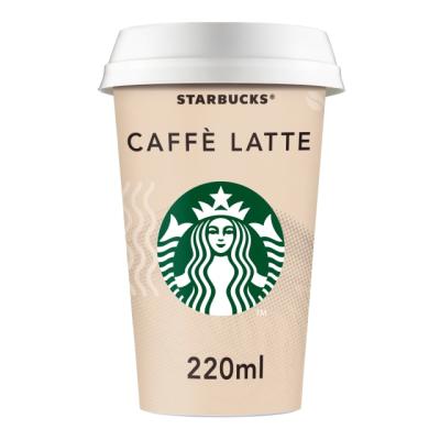 Старбъкс Напитка Кафе Лате 220мл