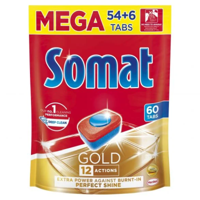 Сомат Таблетки Съдомиялна Голд 54+6бр