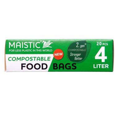 Мистик торби за храна биоразградими 4л 20бр
