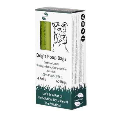 Торбички хигиенни за кучета биоразградими 60бр