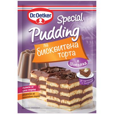 ДР Йоткер Пудинг Специален Торта Шоколад 90г