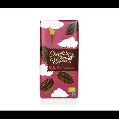Чоколетс Фром Хевън Шоколад Черен 85% Перу Доминикана 100г