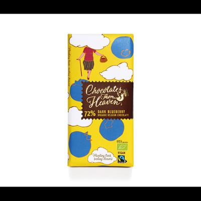 Чоколетс Фром Хевън Шоколад Черен 72% Боровинки 100г