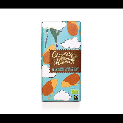 Чоколетс Фром Хевън Млечен Шоколад Карамел Бадем Сол 100г