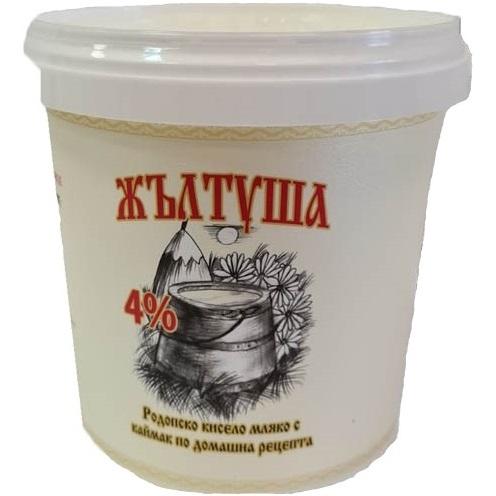 Жълтуша Кисело Мляко 4% 400Г
