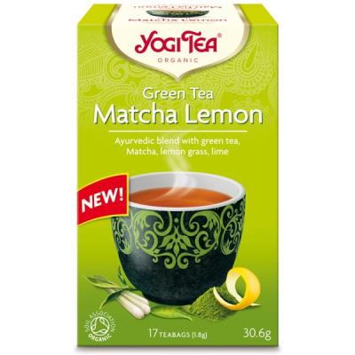 #Йоги Чай Матча Лимон 30.6г