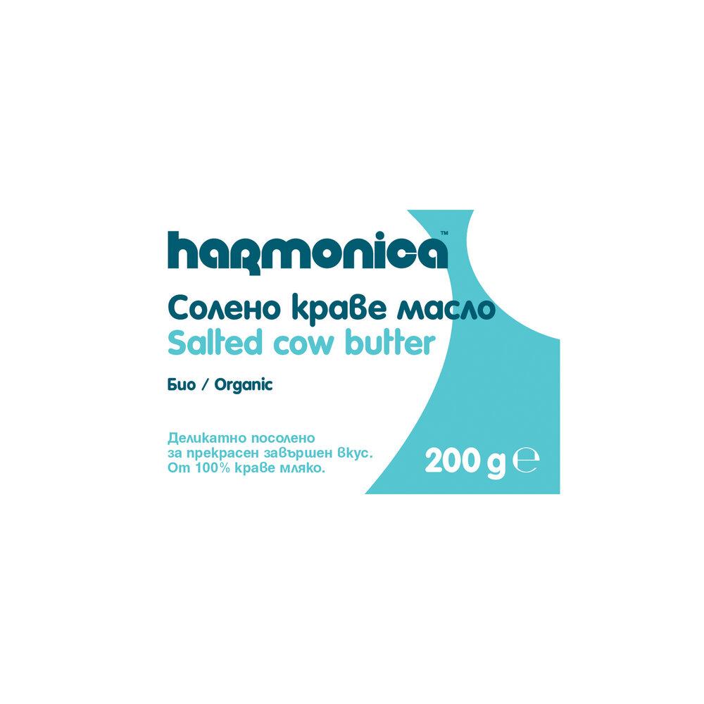 Хармоника Краве Масло Солено Био 200г