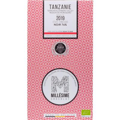 Милесиме шоколад Танзания 76% какао 70г