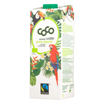 Коко Био кокосова вода 1л
