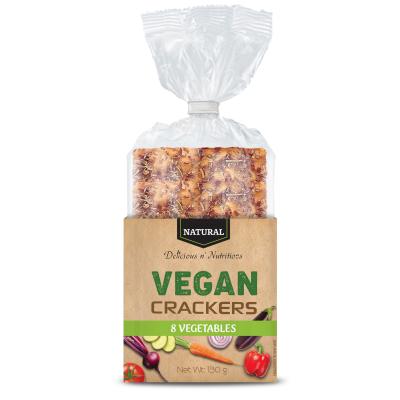 Крекери веган натурални 8 зеленчука 130г