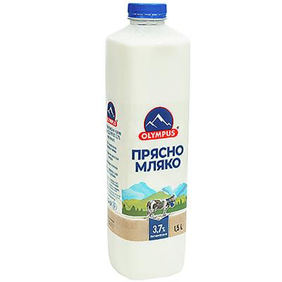 Олимпус Прясно Мляко 3.7% 1.5л