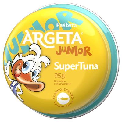 Аргета пастет риба тон джуниър 95г