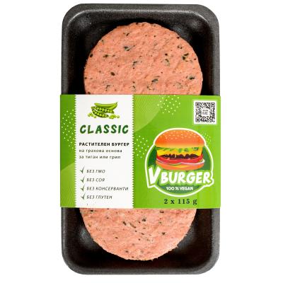 Ви Бургер соев класик 2брХ115г