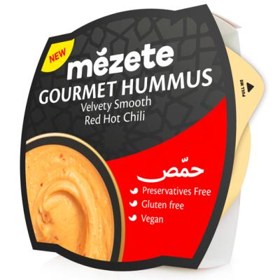 Мезете Хумус Червено Люто Чили 215г